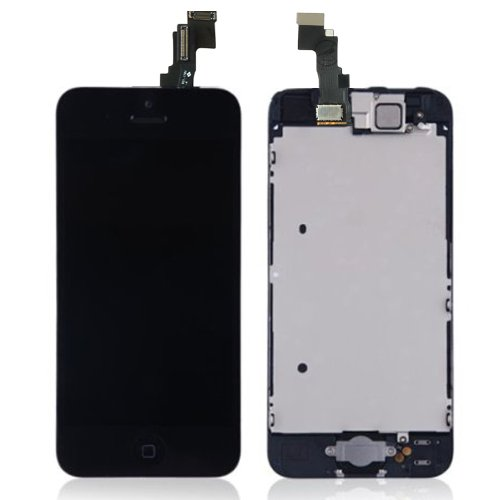 Lcd Display Touch Screen Digitizer Assembly With Spare Parts (Home Button & Camera & Flex Cable) For Iphone 5C