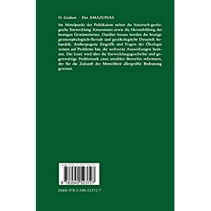 Der Amazonas: Geschichte und Probleme eines Stromgebietes zwischen Pazifik und Atlantik (G