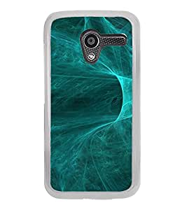 ifasho Design of smoke pattern Back Case Cover for Moto X