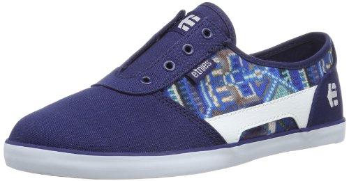 Etnies Rct Ls Womens Size 10 Blue Canvas Sneakers Shoes Uk 7.5 Eu 41.5