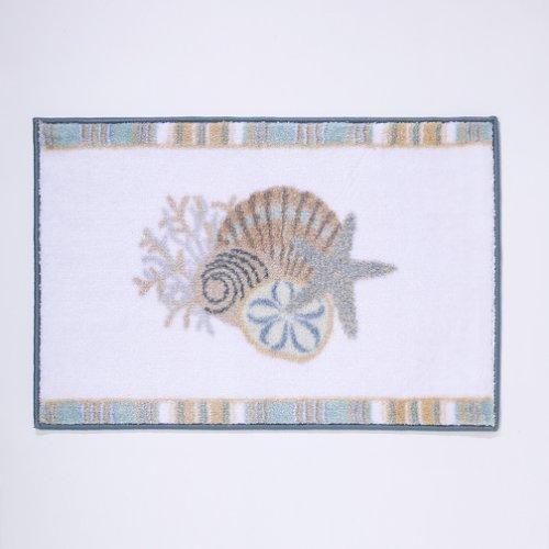 Avanti Linens By The Sea Rug, White