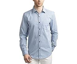 Scotchtree Men's Shirt (sco_023_Blue_X-Large)