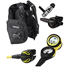 Buy Oceanic Price-Buster Scuba Package, Regulator, BC, Octo, Computer, Diving Package, Diving Set, Scuba Set by Oceanic