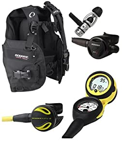 Oceanic Price-Buster Scuba Package, Regulator, BC, Octo, Computer, Diving Package, Diving Set, Scuba Set, XS