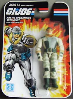 G.I. Joe Arctic Operations Specialist Frostbite Action Figure 2008 Series - 1
