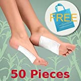 HealthyLife® Detox Foot Pads Patches (50 Pieces) + Free Bag