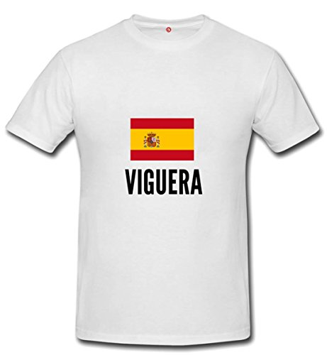 T-shirt Viguera city White