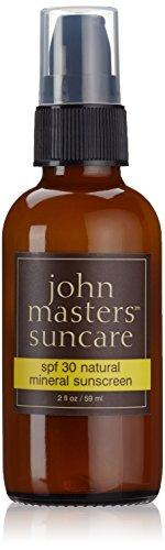 John Masters Organics - Natural Mineral Sunscreen 30 Spf - 2 Oz.