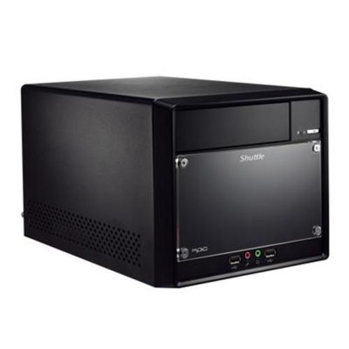 Shuttle SH61R4 XPC Barebone System (Socket 1155, 2 x 240-pin DDR3 Memory Sockets, 4 x S-ATA/300, Intel H61, USB 3.0) - Black