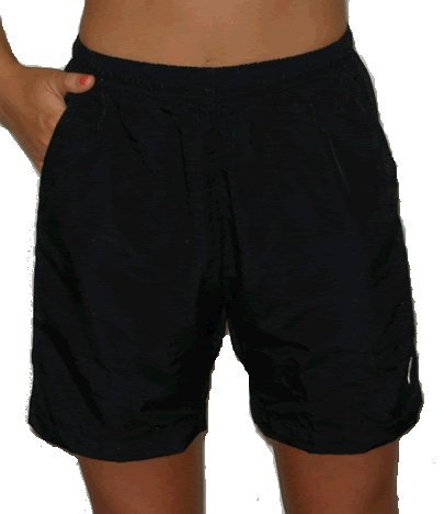 ATD Women's Loose Fit Mountain Bike Shorts - Black