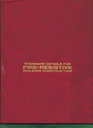 Standard details for fire-resistive building construction, Przetak, Louis