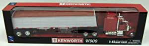 New Ray 1/43 D/C Kenworth W900 Grain Hauler at Sears.com