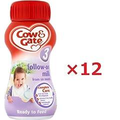 Cow&Gate(カウ&ゲート) 液体ベビーミルク (6か月から) 200ml Stage3の商品イメージ