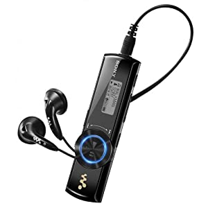 Sony NWZ-B172 WALKMAN MP3-Player 2GB mit Kleidungsclip schwarz