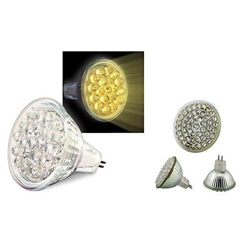 Everydaysource® 19 Led 0.9W Mr11 Warm White Light Bulb + 48 Led 2.4W Mr16 White Light Bulb