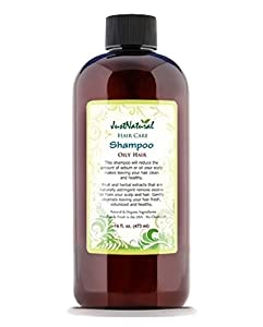 Oily Hair Shampoo. by Just Natural Products