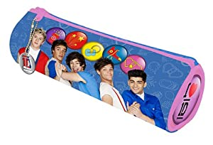 Official 1D One Direction BarrelPencil Case School Stationery Zip Bag - New Design!