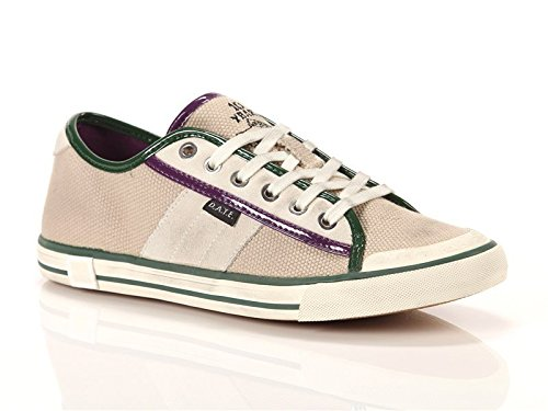 Date, Donna, Tender Low, Canvas/suede, Sneakers, Beige, 39 EU