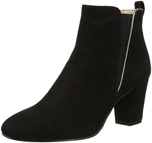 Jb Martin1 Rubix - Stivali classici alla caviglia Donna , Nero (Noir (Che Vel Noir/V Specchio Acier)), 37