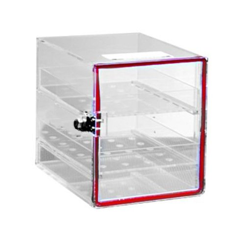 TrippNT 50032 White Polystyrene Plastic Drawer Organizer 7 Compartments 16.8 Width x 2.4 Height x 12.9 Depth