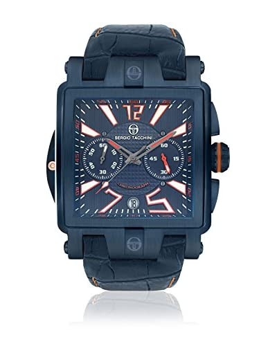 Sergio Tacchini Reloj de cuarzo Man Azul 50 mm