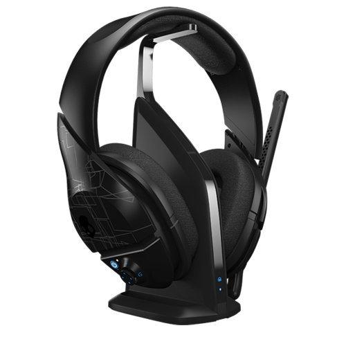 Skullcandy Plyr1 7.1 Surround Sound Wireless Gaming Headset, Black (Smpyfy-003) Color: Black