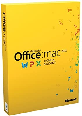 Office for Mac Home and Student Edition 2011 (1 User, 1Mac)