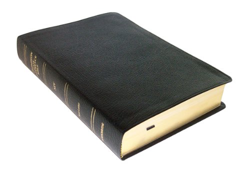 Buy Thompson Chain Reference Bible Style 809black - Regular Size NIV - Bonded Leather088724758X Filter