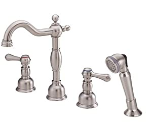 Danze D306757bn Opulence Two Handle Roman Tub Faucet With