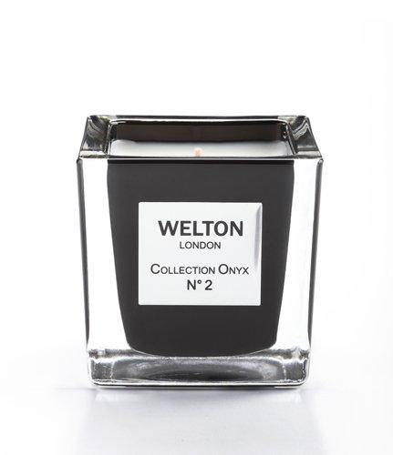 WELTON LONDON ウェルトンロンドン ONYX COLLECTION フレグランスキャンドル 150g NO.2