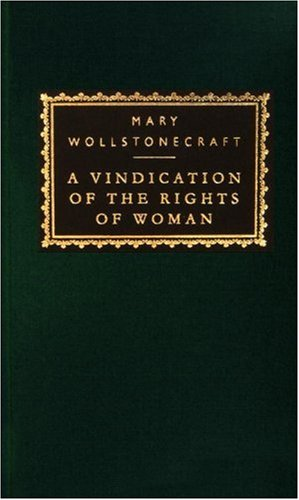 A Vindication of the Rights of Woman (Everyman