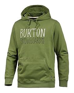 Burton Herren Hoodie Battery oliv M