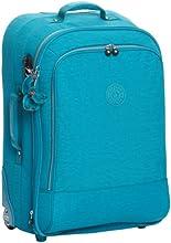 Kipling Yubin 65, Valises mode mixte adulte  - Turquoise (544 Turq Blue)