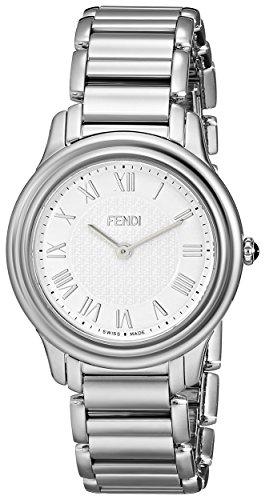 Fendi Classico Women's 32mm Silver Steel Bracelet & Case Quartz Watch F251034000