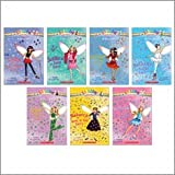 img - for The Dance Fairies Boxed Set (7 Books) (Rainbow Magic, #1: Bethany the Ballet Fairy; #2: Jade the Disco Fairy; #3: Rebecca the Rock 'n' Roll Fairy; #4: Tasha the Tap Dance Fairy; #5: Jessica the Jazz Fairy; #6: Serena the Salsa Fairy; #7: Isabelle the Ice Dance Fairy) book / textbook / text book