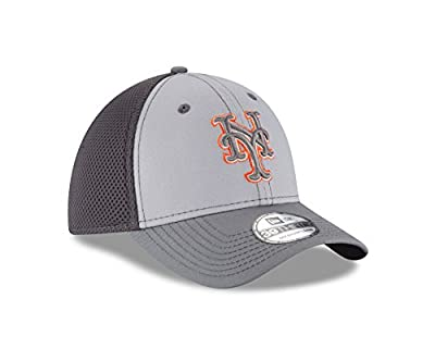 MLB New York Mets Grayed Out NEO 39Thirty Stretch Fit Cap