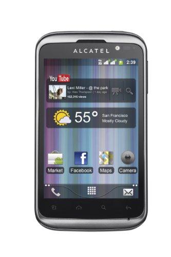 Alcatel OT 991D Smartphone, Nero [Italia]