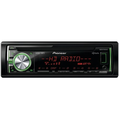Pioneer Deh-X5600Hd Cd Receiver With Mixtrax(Tm) Hd Radio(Tm) Android(Tm) Media Access 2 Sets R