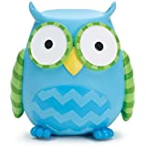 Whooo's Cutest Blue Owl Shaped Coin Bank