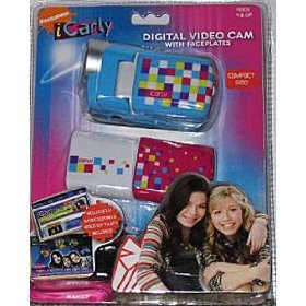 iCarly I Carly Digital Video Cam w/ Faceplates