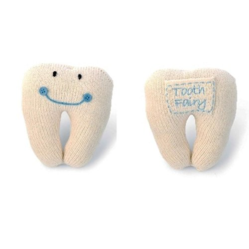 Mud Pie Blue Tooth Fairy Pillow