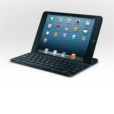 Logitech 920-005021 Ultra Thin Keyboard Mini - Keyboard - Bluetooth - English - Us - Black - For Apple Ipad Mini