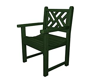 polywood outdoor furniture chippendale arm