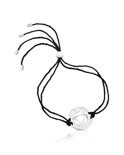 Chakra Pearls Pulsera  Negro