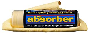 "The Absorber Synthetic Drying Chamois, 27"" x 17"", Natural"