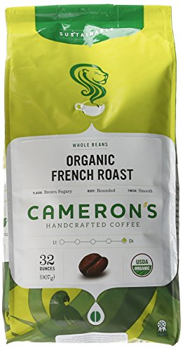 Cameron's Organic Whole Bean - French Roast - 32 oz