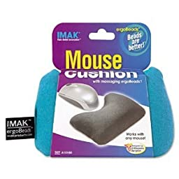 IMAK® - Mouse Wrist Cushion, Teal - Sold As 1 Each - Helps prevent carpal tunnel syndrome.