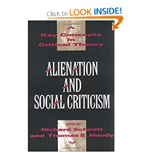 Amazon.com: Alienation and Social Criticism (Key Concepts in ...