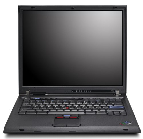 IBM ThinkPad T43 35,6 cm (14 Zoll) SXGA+ Notebook (Intel PM  1.8GHz, 512MB RAM, 60GB HDD, DVD-RW/CD-RW)