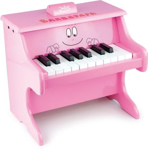 Vilac - 5871 - Instrument de Musique - Piano avec Partitions - Barbapapa
